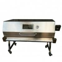 Quality Stainless Steel Hooded Spartan Spit Gas Large Spit Rotisserie BBQ Grill Welding Technology for sale