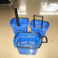 China Highbright All Types Plastic Metal Wire Shopping Basket for Sale on sale