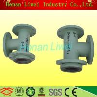 Rubber lined pipe and pipe fittings Flanged seamless carbon steel Rubber Lined Pipe