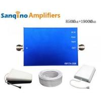Quality Sanqino Home 2G/3G Dual Band Cell Phone Signal Amplifier for sale