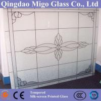 China Silk Screen Printing Glass (Decorative Glass) on sale
