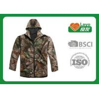 China Customized Design Outdoor Softshell Jacket Full Zipper For Sports on sale