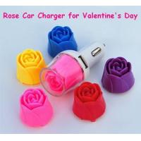 China Car Charger Name: Rose Car Charger for Valentines day Promotion on sale
