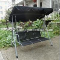 China 3 Seat Outdoor Patio Swing on sale