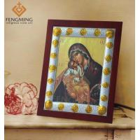 Quality Eastern orthodox icons for sale mary mother of jesus metal silver icon greek gifts for sale