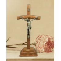 Buy cheap Catholic Christian Wood Table Cross with Crucifix from wholesalers