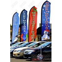 Best Outdoor promotional swooper flagpole wholesale