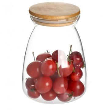 Buy Airtight Borosilicate Candle Jar Glass at wholesale prices