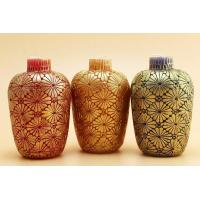 Buy cheap Allite Ceramic Bottles Christmas candle with soy wax plam wax AAM61A from wholesalers