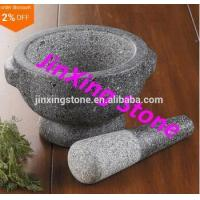 Best Natural Stone Granite Pestle&Mortar with 2 Ear wholesale