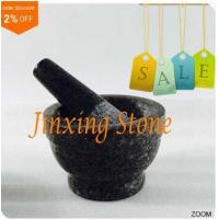 Best Pestle & Mortar Granite Material for Kitchen Cooking Stone Kitchenware wholesale