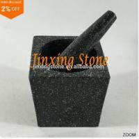 Best Wholesale Natural Stone Mortar and Pestle Black Granite Mortar and Pestle wholesale