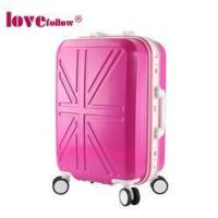 Buy cheap AXSB08 aluminum frame ABS PC travel luggage bags from wholesalers