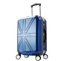 Buy cheap ABS PC aluminum frame travel waterproof carry on trolley suitcase from wholesalers