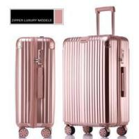 Quality Fashionable Cheap ZipperAluminum Frame Luggage Bags for sale