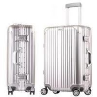 Buy cheap love-follow 2016 new desgin ABS PC aluminum frame trolley luggage suitcase from wholesalers