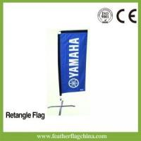 Quality Rectangle Beach Flag 7ft 2.1m Event Flags for sale
