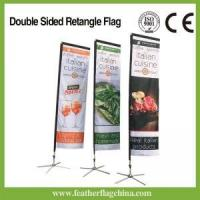 Buy cheap Rectangle Beach Flag 10ft 3m Rectangle Beach Flagg from wholesalers