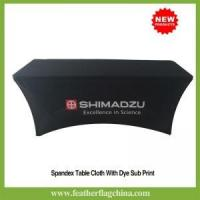 Buy cheap Custom Table Covers Spandex Table cover from wholesalers