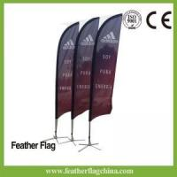 Buy cheap Feather Flag 12ft 3.5m Feather Flag For Sale from wholesalers