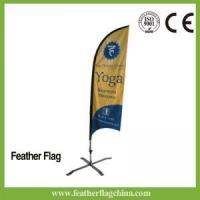 Best Feather Flag 8ft 2.5m Sail Feather Flag Printing wholesale