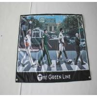 Quality knitted fabric banner for sale