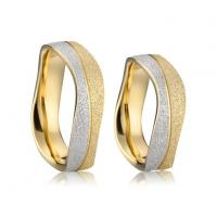 Best Wholesale Stainless Steel Jewelry Cheap Wedding Rings Sets for Couples Anel wholesale