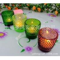 Best The relief of color dot glass cup PASS CE ROHS wholesale