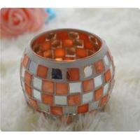 Buy cheap Handmade shell mosaic Candlestick patch from wholesalers