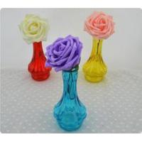 Buy cheap Small single glass vase of flowers cheap from wholesalers