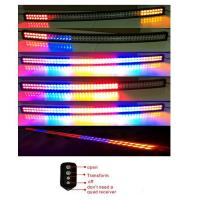 China 3W Epistar Chips Screw Type Double Row 4 Color Strobe Flash RGB LED Light Bar on sale