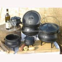 China Hot sale High quality south africa three legs cast iron potjie pot on sale