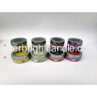 Best Travel Tin Candle with PVC Window wholesale