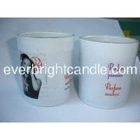 Buy cheap scented White colored glass jar candle from wholesalers