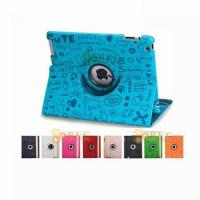 Quality iPad234 360℃ Rotating Doremi Leather Cover for sale