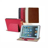 Quality iPad Mini Leather Cover - Diamond Lines for sale