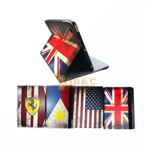 Buy iPad Mini Leather Cover - Flags at wholesale prices