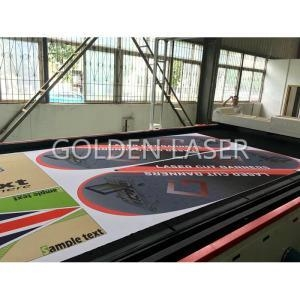 Buy Printed Banners Flags Laser Cutting Machine at wholesale prices