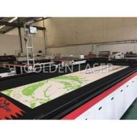 Best Large Printed Mesh Banner Laser Cutting Machine wholesale