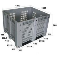 Best Ventilated side container pallet wholesale