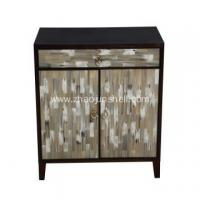 China CANOSA 2016 New product OX horn inlaid wood Storage Cabinet living room furniture on sale