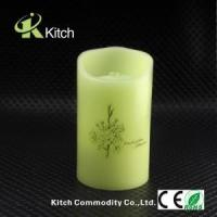 Best Wholesale real wax fountain flameless led candle with Timer free shipping DHL express wholesale