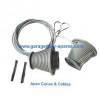 Quality Apex Ascot Garage Door Grey Cones and Cables for sale