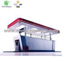 China Mobile Skid-mounted LPG Filling Station Small Area Required on sale