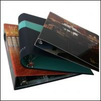 China 3-D Ring Paper Cover File Folders on sale