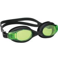 Buy cheap Quickly Adjustable Strap Green Silicone Adult Swim Goggle from wholesalers