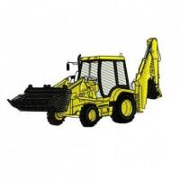 China Heavy Equipment Embroidery Designs on sale