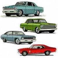 Buy cheap Chevy Nova Embroidery Design Discount Value Pack from wholesalers