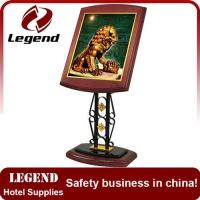 China High Performance Display sign holder for hotel on sale