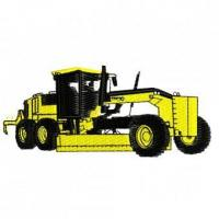 Buy cheap Construction Equipment Earth Mover Grader Embroidery Design from wholesalers